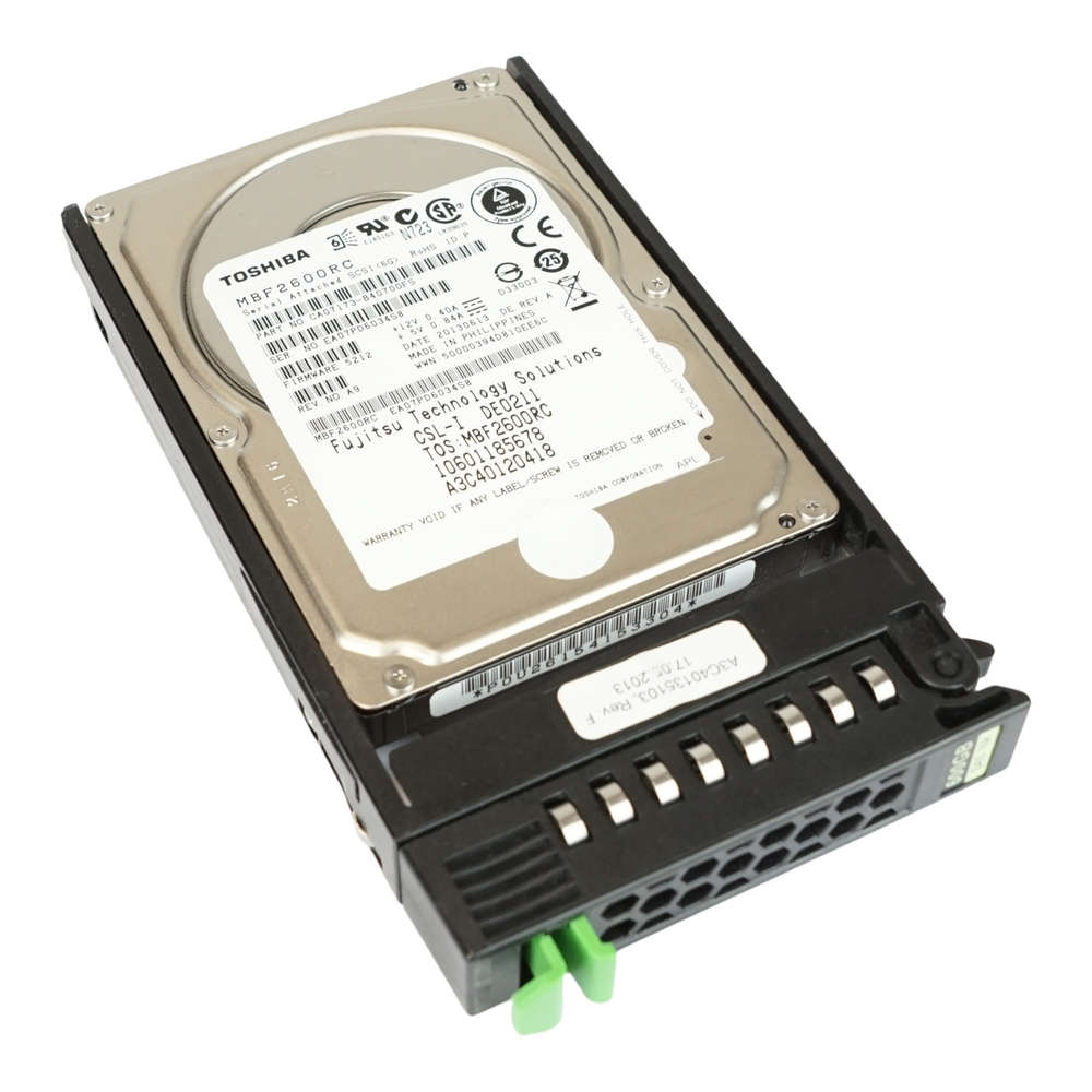 "Dell MBF2600RC Laptop 600GB SAS Internal HARD DRIVE 600-GB 10K-RPM 6G 2.5/"" HDD"