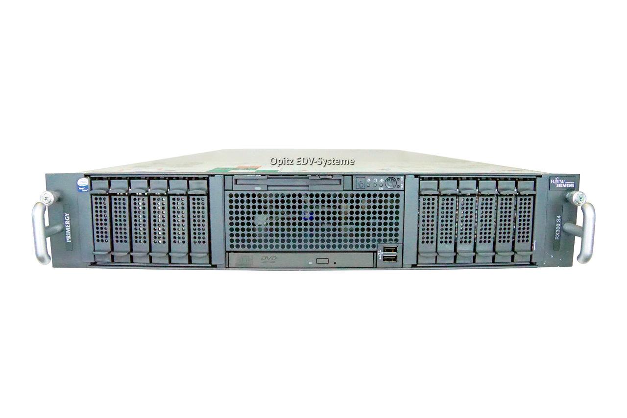 Fujitsu Primergy Rx300 S4 2x Xeon E5420 2 5ghz 8gb 2x73gb 2 5 Quot