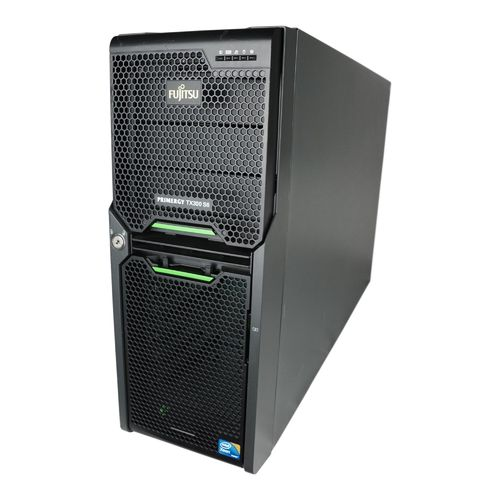 Fujitsu Server Primergy TX300 S6 Tower 2x E5630 32GB RAM 2x300GB SAS