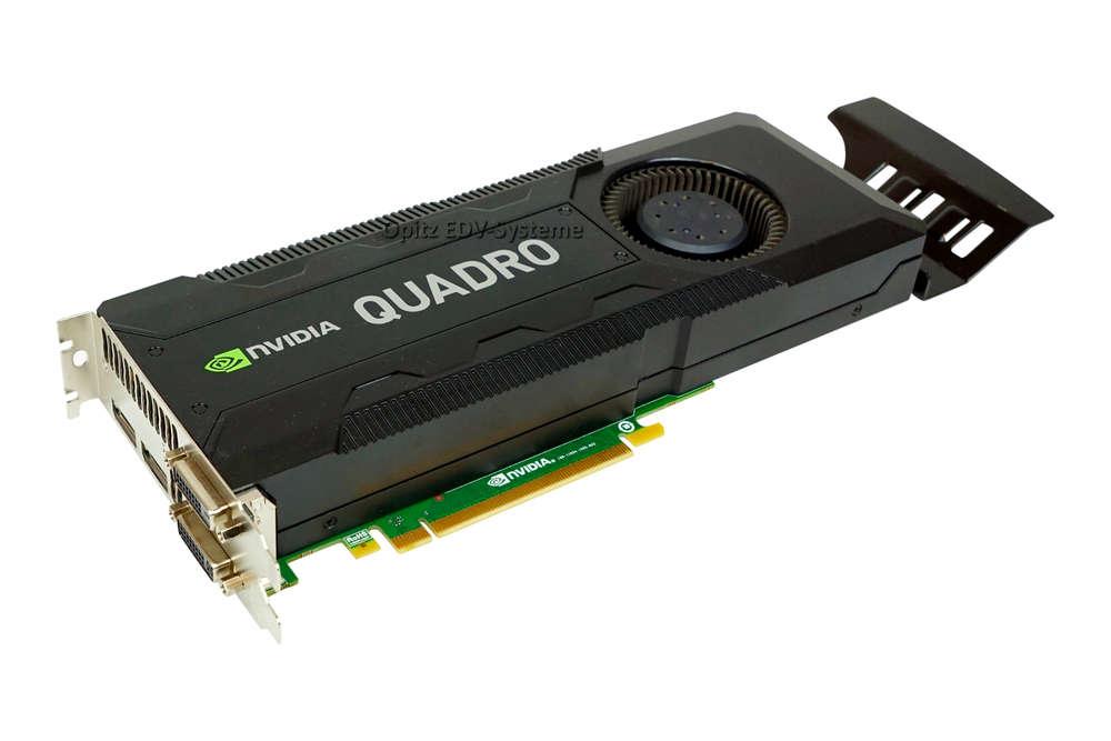 Fujitsu Graphic Card VGA NVIDIA Quadro K5000 4GB S26361-D3000-V500