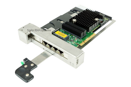 Quad Gigabit Ethernet Card CU Low Profile F501-7606