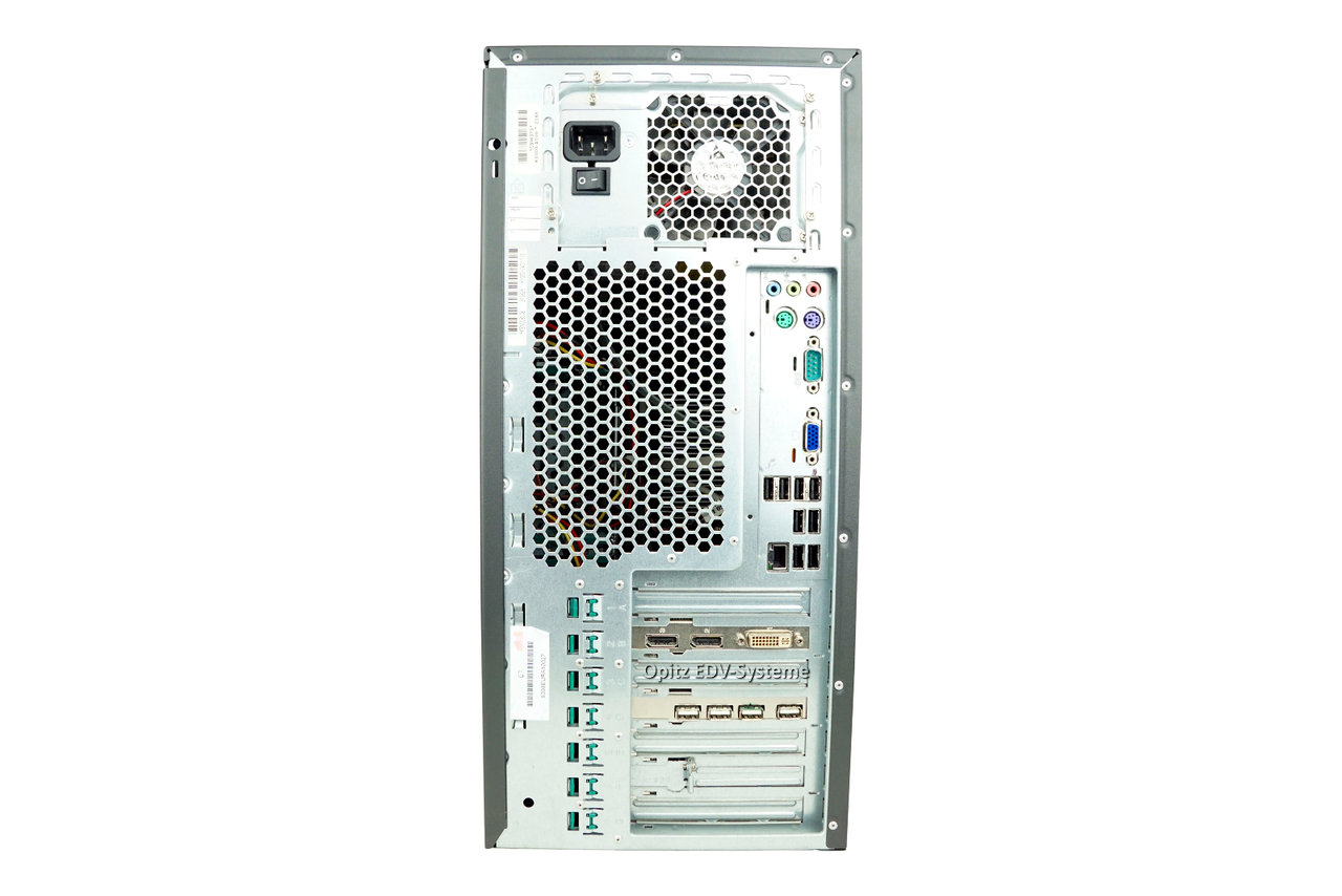 Celsius W370 Core 2 Duo E8500 4gb Ram 500gb Sata Dvd Win7 Prosesor Fujitsu Workstation